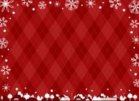 イラスト Snow crystal landscape(5356436)