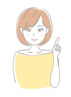 イラスト Young women point(5356573)