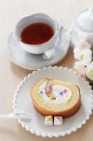 写真 Roll cake and tea(5362698)
