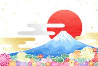 イラスト Fuji sunrise(5362778)