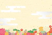 イラスト New Year flowers Shochiku Meizumi(5362792)
