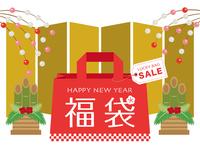 イラスト Banner for lucky bag advertisement(5363386)