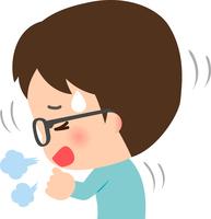 イラスト Young man coughing(5363448)