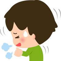 イラスト A coughing boy(5363449)