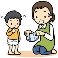 イラスト Toilet training(5363706)