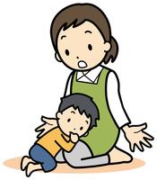 イラスト Baby returning(5363718)