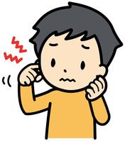 イラスト Ear itchy child(5363786)