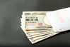 10000 yen note and white envelope ID:5356690
