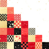 Various Japanese pattern of checkered pattern ID:5359289