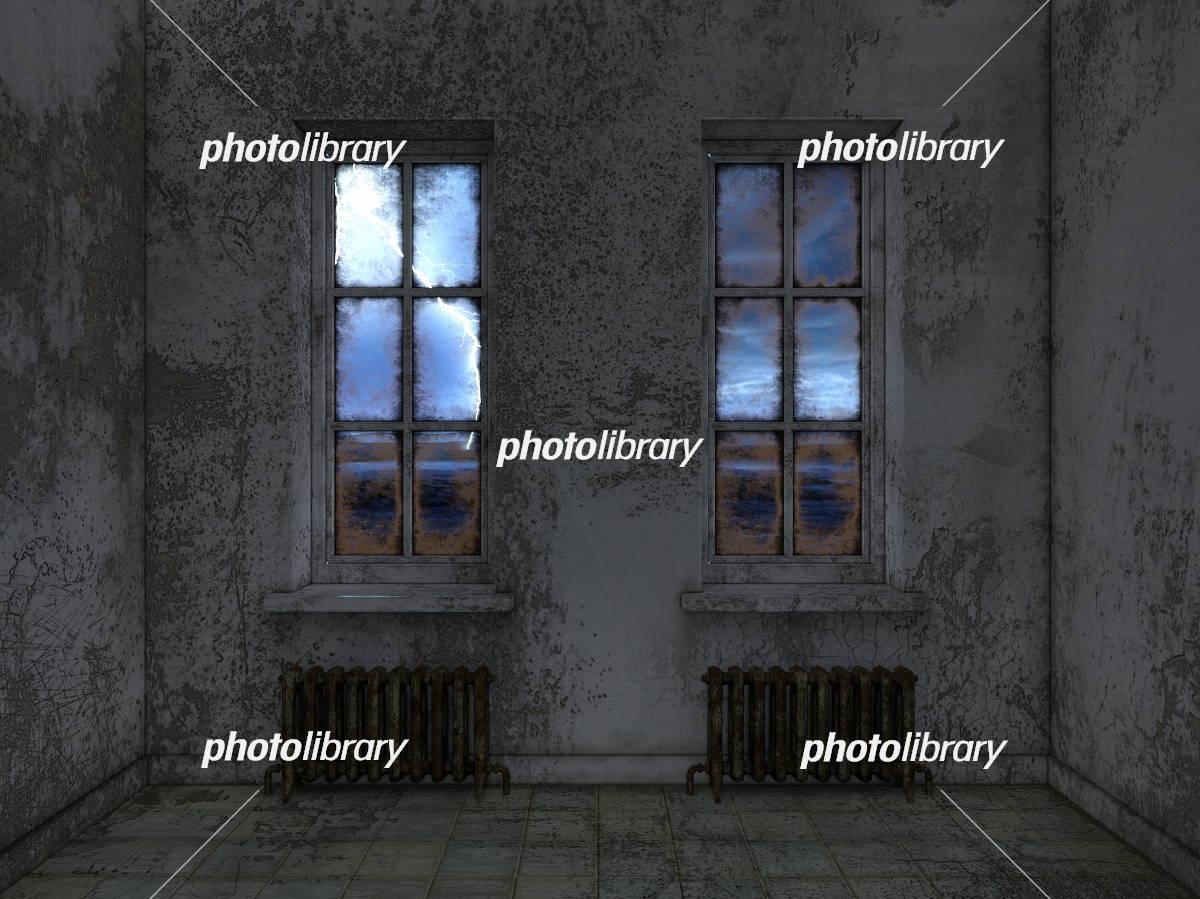 廃墟 イラスト素材 [ 5422701 ] - フォトライブラリー photolibrary