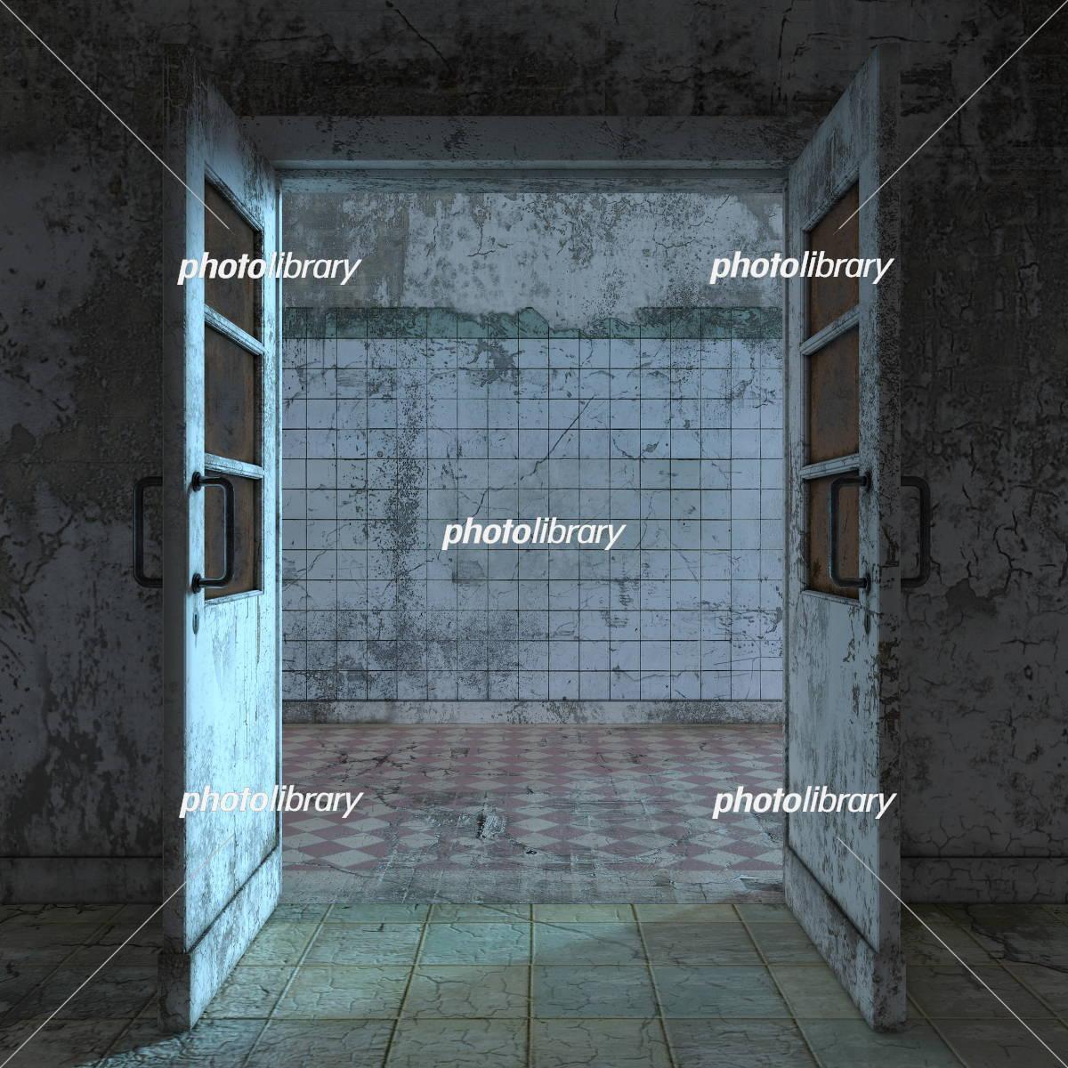 廃墟 イラスト素材 [ 5422896 ] - フォトライブラリー photolibrary