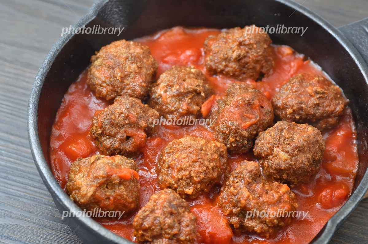 トマト 煮込み ボール ミート