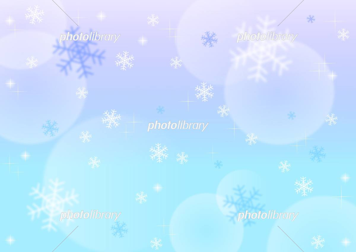 雪の結晶背景 イラスト素材 [ 5458432 ] - フォトライブラリー photolibrary