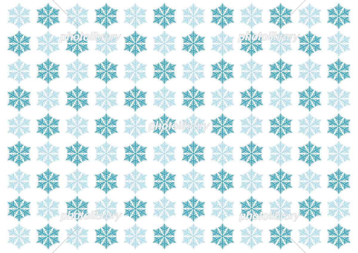 雪の結晶 イラスト 模様 背景 イラスト素材 [ 5493411 ] - フォトライブ