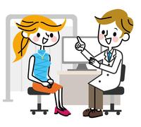 Examination woman smile Consultation