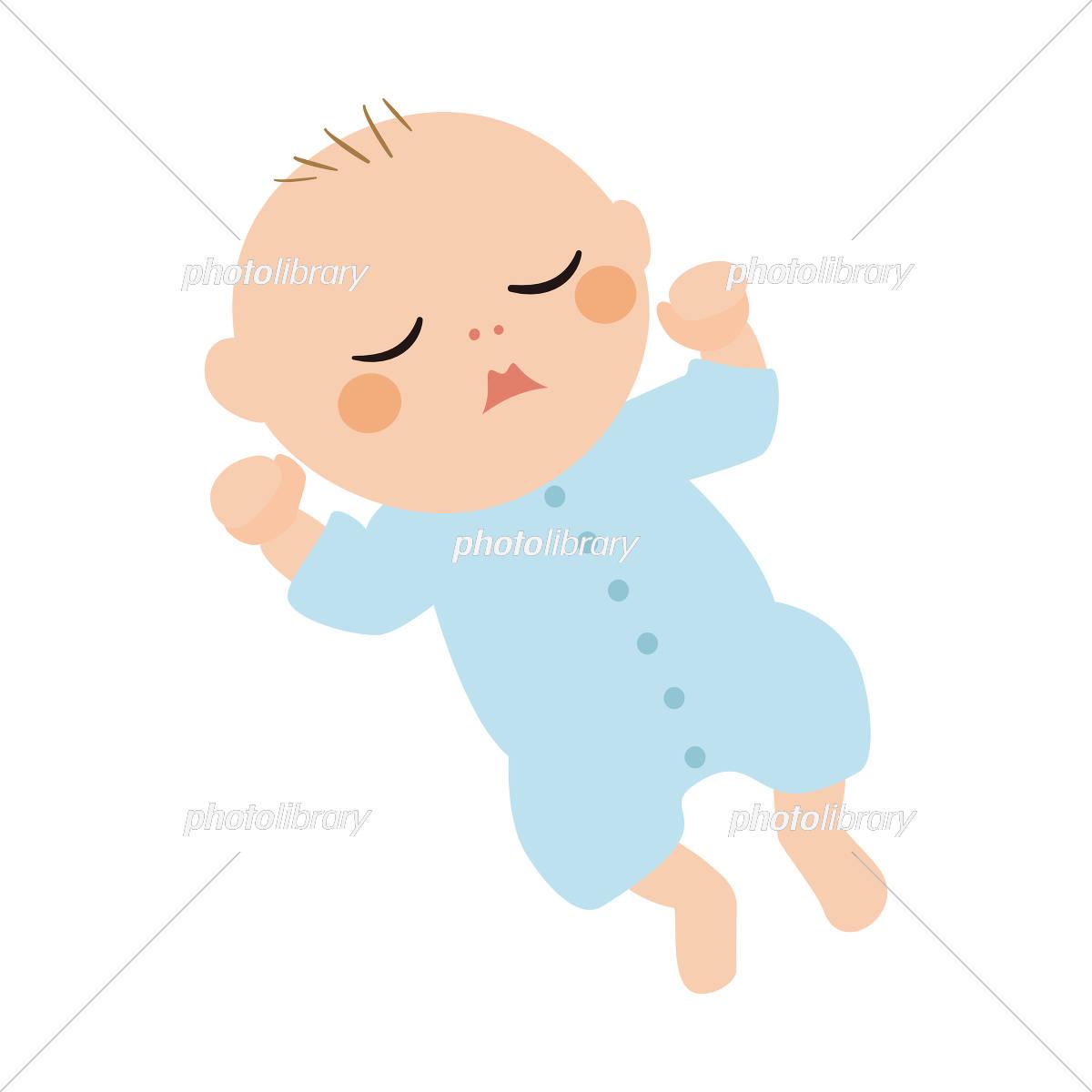 赤ちゃん イラスト イラスト素材 5554049 フォトライブラリー