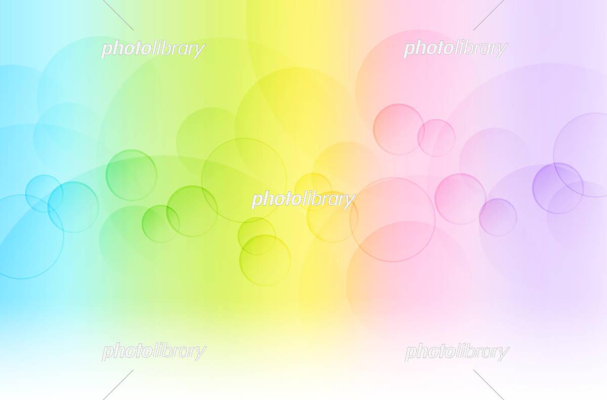 丸いボケとグラデーションの背景抽象的 イラスト素材 5560176