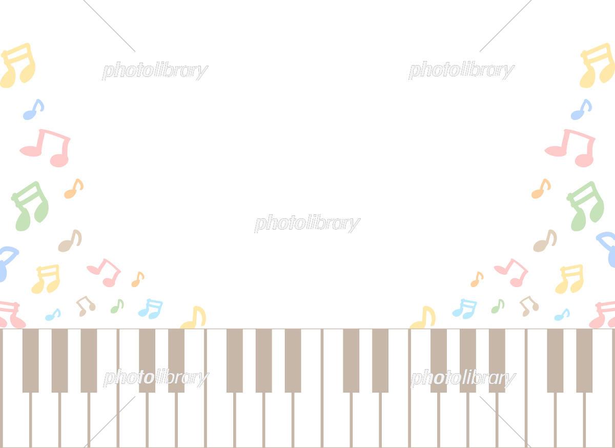 鍵盤 音符 イラスト素材 5592875 フォトライブラリー Photolibrary