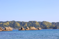 写真 Evening bridge pension rock Wakayama prefecture(5589541)