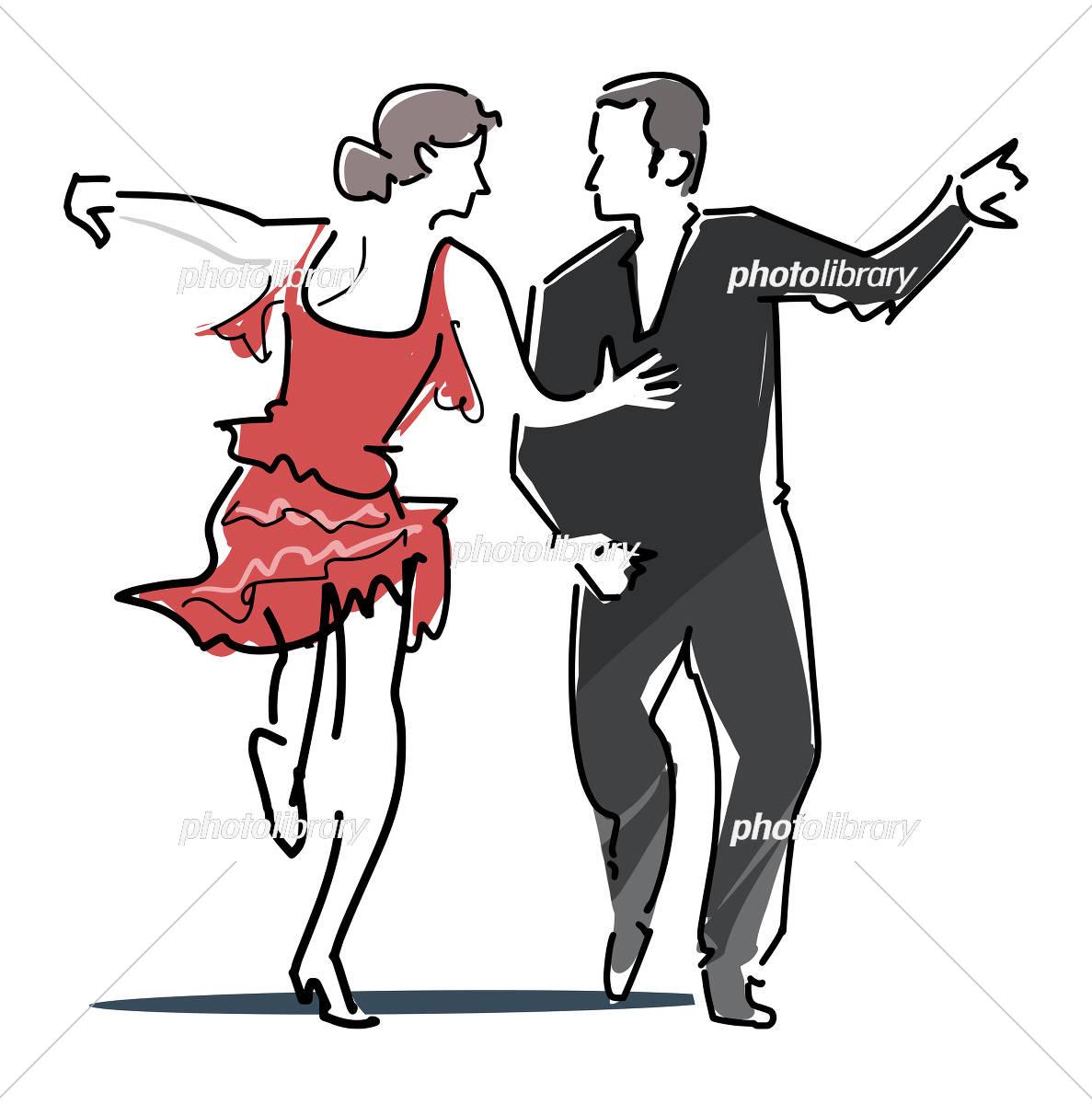 社交ダンスのアイコン イラスト素材 5629562 フォトライブラリー