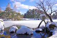 兼六園 冬の霞ヶ池