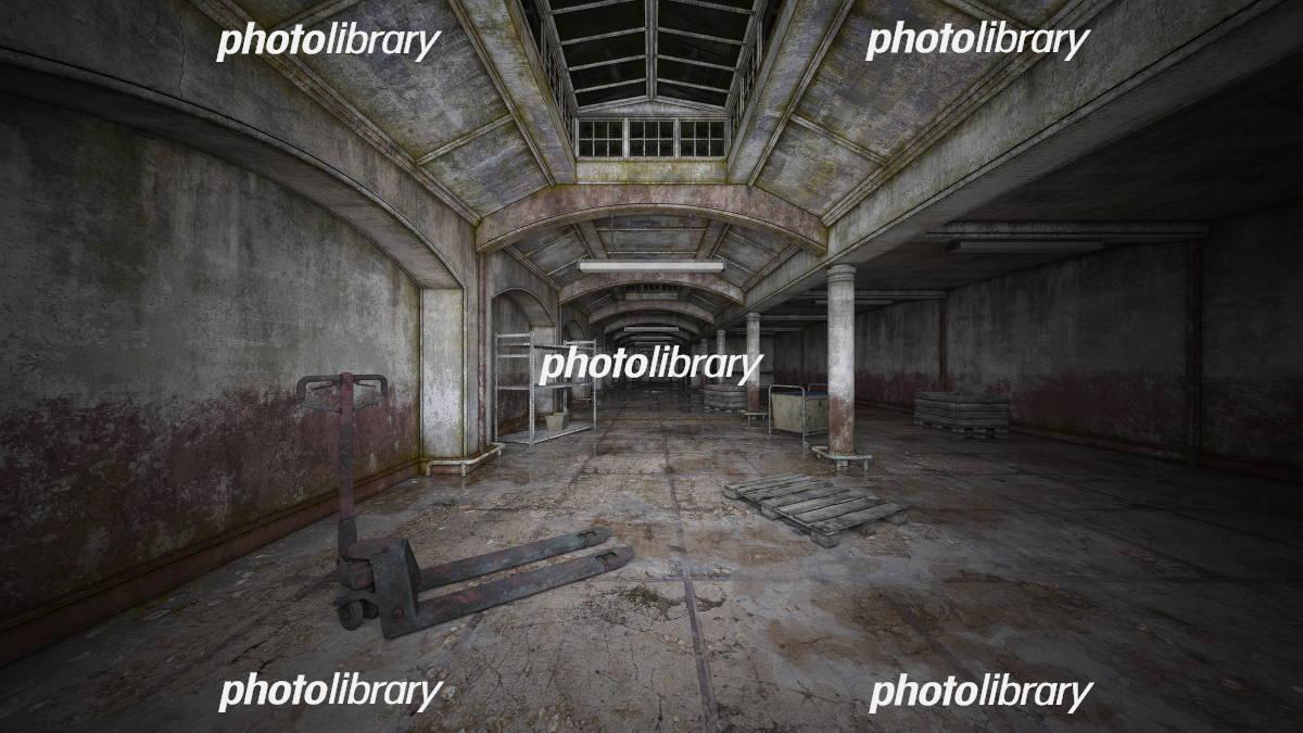 廃墟 イラスト素材 [ 5703278 ] - フォトライブラリー photolibrary