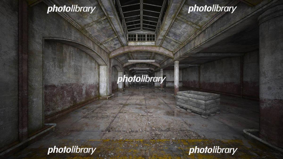 廃墟 イラスト素材 [ 5703280 ] - フォトライブラリー photolibrary