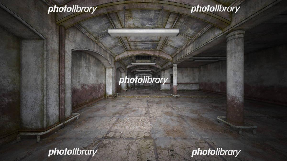 廃墟 イラスト素材 [ 5703281 ] - フォトライブラリー photolibrary