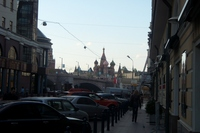 I hope the Moscow streets of St. Basil's Cathedral Stock photo [312321] Russia